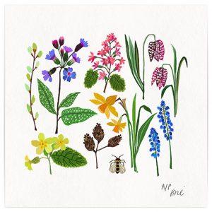 Spring has sprung Giclée print