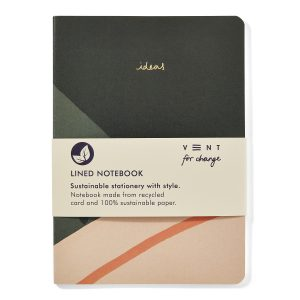 Recycled and Sustainable A5 Notebook – Ideas Green