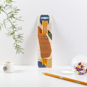 Recycled pencils orange from Vent for Change