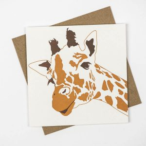 Penguin_Ink_Giraffe_Card_front