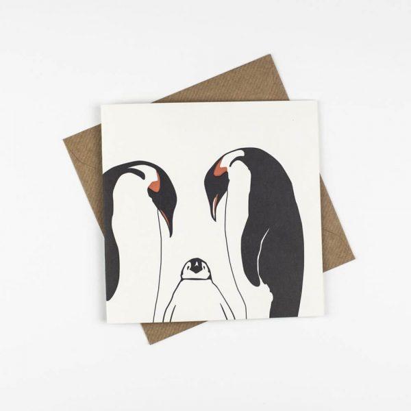 Penguin_Ink_Penguin_Family_Card_front