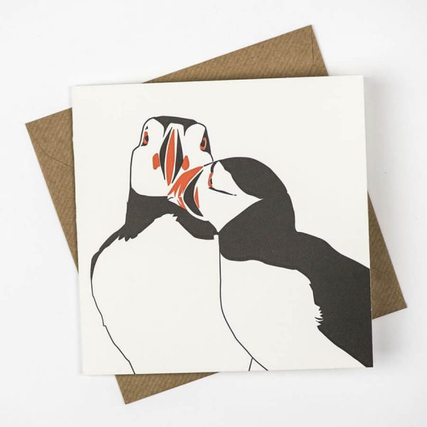 Penguin_Ink_Puffin_Nuzzle_Card_front