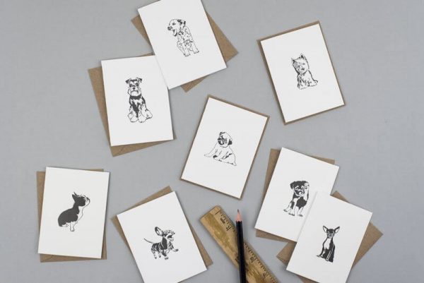 Penguin_Ink_Town_Puppies_Notecards_boxed