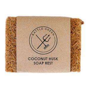 Coconut husk soap rest